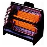 Poole RL2 Radiant Portable Electric Heater 2KW