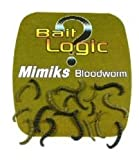 Bait Logic Mimiks Bloodworm Mixed Pack Of Olive And Black Coloured Worms