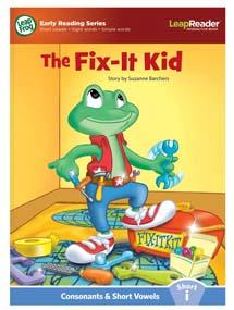 """The Fix-it Kid"" features short vowel ""i"" sound."