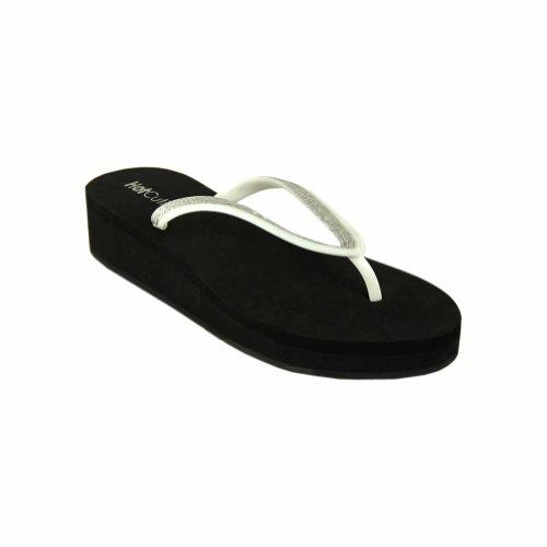 Cheap Platform Flip Flop Sandal Black (EVA-104-BLACK)