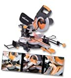 EVOLUTION (POWERTOOLS) RAGE3 230V MITRE SAW- SLIDING- M/PURPOSE- 255MM