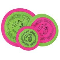 Soft Bite Floppy Flyer Disc Small Size:7-Inch Type:Classic Pack of 2