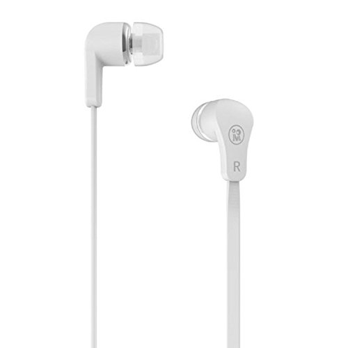 Premium Sound Quality Earbud With Mic + Volume + - For Your Iphone / Samsung / Htc / Sony (Mv130(White))