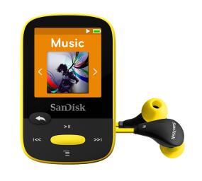 SanDisk Clip Sport MP3 Player product shot