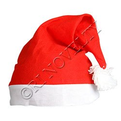 Red and White Santa Hat Christmas