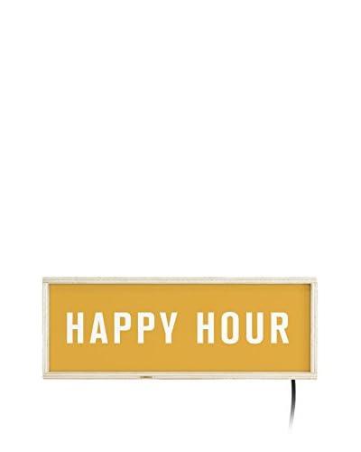 Really Nice Things Pannello Luminoso Lightbox Happy Hour