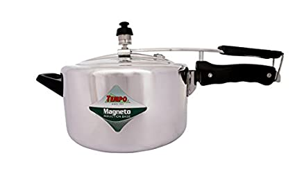 Tempo TP1362 Aluminium 3 L Pressure Cooker (Induction Bottom,Inner Lid)