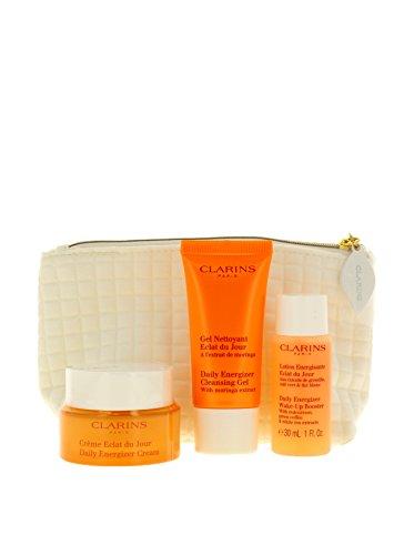 Clarins Soins Eclat Pflegeset mit Crème Eclat du Jour 30ml + 30ml + 30ml
