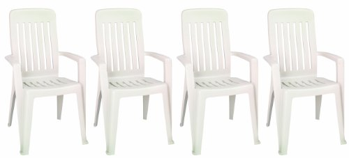 Adams Manufacturing Mission High Back Commercial Grade Chair, Desert Clay, Set Of 4 front-666136