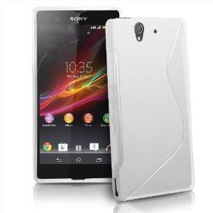 XPERIA Z アウトドアスタイル S デザイン カバーケース ( docomo SO-02E / Sony Xperia Z C6603 対応) Outdoor Style S Design TPU Cover Case【Mad White(白)】