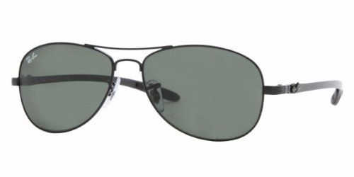 Ray-Ban RB8301 002 Black W/Carbon Fiber Temp Sunglasses Reviews