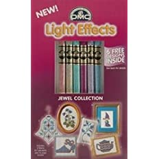 DMC Light Effects Floss Pack 6/Pkg Soft Jewels 317WPK1