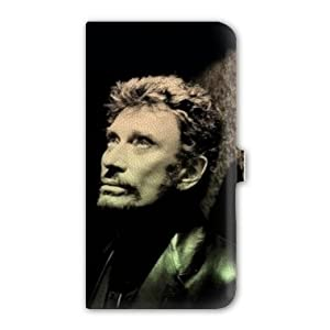 Housse cuir portefeuille samsung galaxy s5 johnny hallyday high tech - Housse de couette johnny hallyday ...