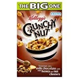 Kellogg's Crunchy Nut Chocolate Curls Honey & Nut Clusters 700G
