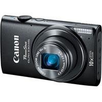 Canon PowerShot ELPH 330 HS 12.1 MP Wi-Fi Enabled CMOS Digital Camera with 10x Optical Zoom 24mm Wide-Angle Lens and 1080p Full HD Video (Black)