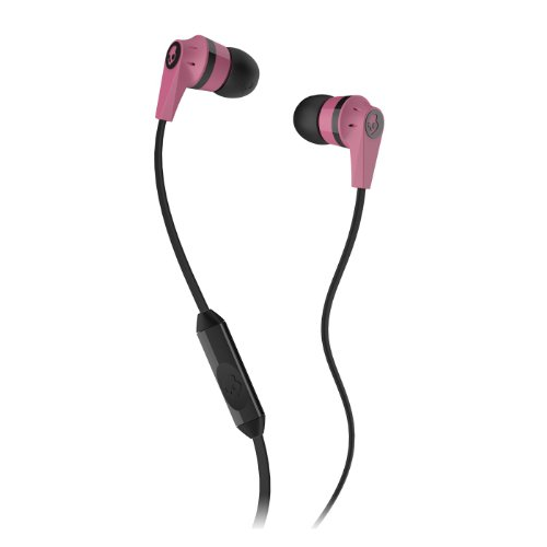 Skullcandy Ink'd 2.0 In-Ear Headphones with Mic - Pink/Black