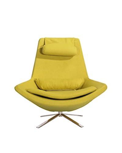 Kardiel Retropolitan Modern Lounge Wing Chair, Dijon