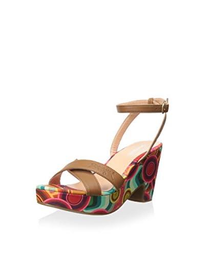Desigual Women's Platform Sandal