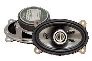 """Neodimium High Frequency 400w Car Speakers 4"""" X 6"""" 2-way"""
