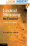 Lexical Meaning in Context: A Web of...