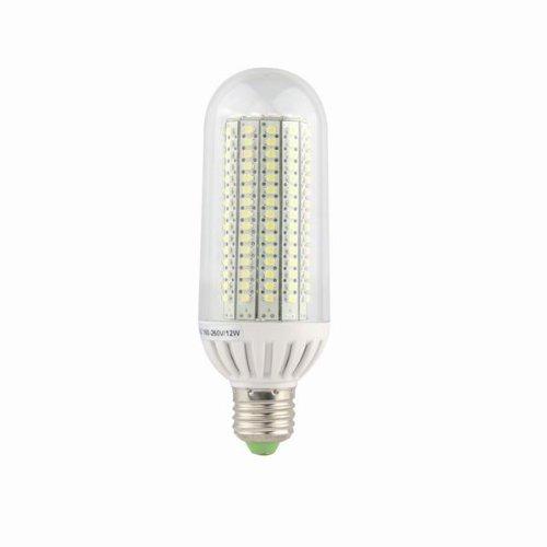 E27 12W Led Bulb Cool White Ac(100V To 250V) Source(198Pcs High Performance Led Smd 3528)