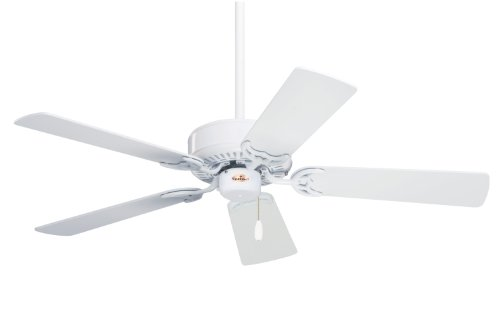 Emerson CF704WW Northwind Indoor Ceiling Fan, 42-Inch Blade Span, Appliance White Finish and Appliance White/Bleached Oak Blades