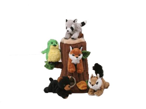 plush-treehouse-with-animals-five-5-stuffed-forest-animals