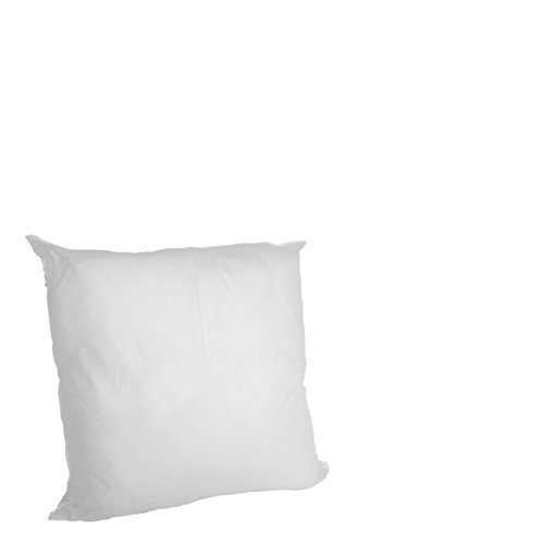 Find Bargain Set of 2 - 12 X 12 Premium Hypoallergenic Stuffer Pillow Insert Sham Square Form Polyes...