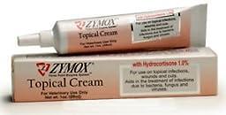Zymox Topical Cream w/ Hydrocortisone Enzyme Treatment for Skin Infection (1oz)