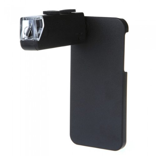 Docooler 60-100X Zoom Led Illuminated Magnify Magnifier Microscope For Iphone 5