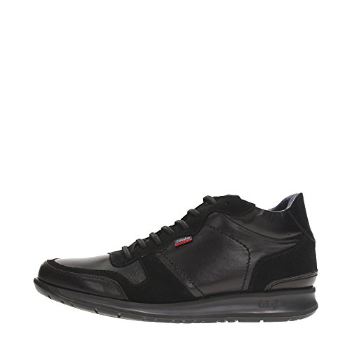 CallagHan 86505 Sneakers Uomo Pelle NEGRO NEGRO 45