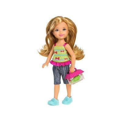 Barbie W3207 – Chelsea und Freunde Sortiment – Nia mit Chamäleon als Geschenk