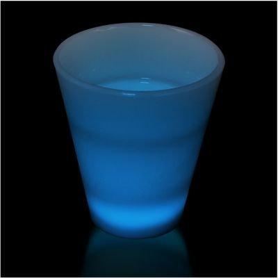 Blue Led Shot Glass 2 Ounce