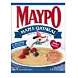 Homestate Farms Maple Flavor Maypo Oatmeal Cereal, 42 Ounce -- 8 per case.
