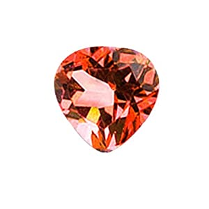 2.05 Cts of AAA 8 mm Heart Loose Mystic Azotic Ecstasy Topaz ( 1 pcs ) Gemstone