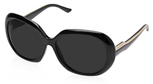 Escada Escada Oversized Sunglasses (Black) (SES 159|0700 CC|60)