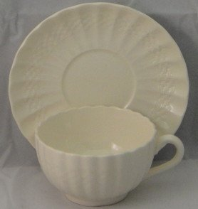 Spode Chelsea Wicker Footed Cup & Saucer