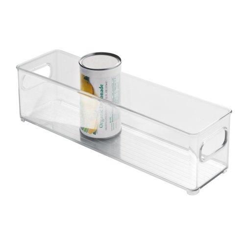 Interdesign Refrigerator And Freezer Storage Bin, 4-Inch By 4-Inch