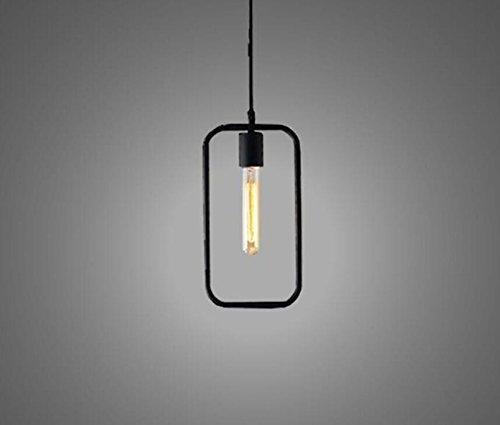 UZI-moda Lampadario a bracci Lampadario in ferro LED , single head rectangle 40w