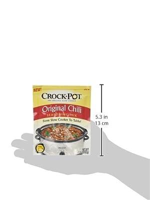 Crock Pot Original Chili Seasoning Mix (1.5 oz Packets) 3 Pack