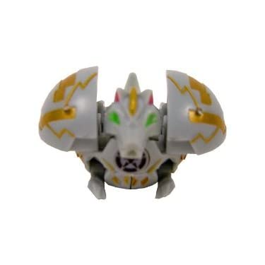 Bakugan Battle Brawlers Game Single Loose Figure Luminoz Hynoid Grey