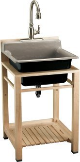 Bayview Wood Sink Stand - K-6618