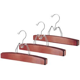 DELUXE Cherry Skirt/Trouser Hanger - 3Pk