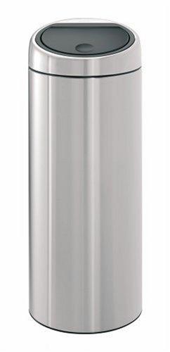 Brabantia Touch Bin, 30 Litre, Matt Steel