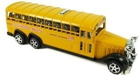 Friction Powered School Bus Toy for Kids