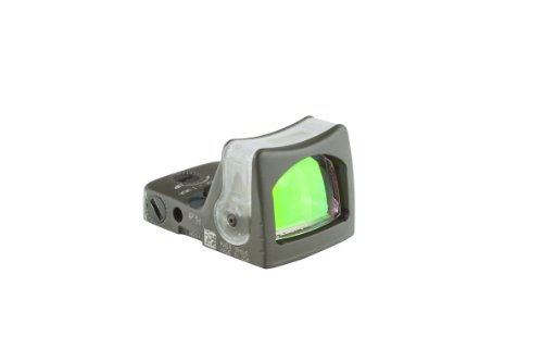 Ruggedized Miniature Reflex Rm03-C-700143 Dual Illuminated 13.0 Moa Amber Dot Sight, Od Green