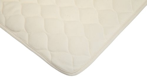 American Baby Company Organic Waterproof Quilted Sheet Saver Cover, Natural