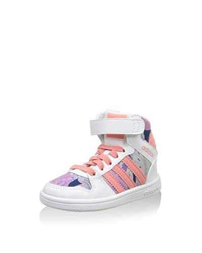 adidas Hightop Sneaker Pro Play 2 Cf I weiß/lachs