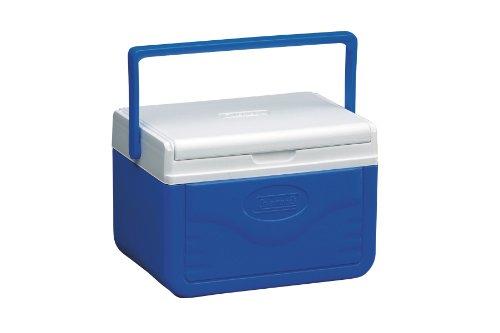 Coleman FlipLid 6 Personal Cooler, Blue