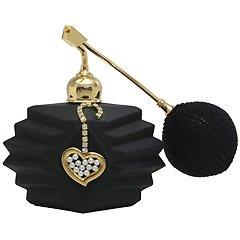 ブラック クリスタルアトマイザー フランス製 ブラッククリスタル香水瓶 660303